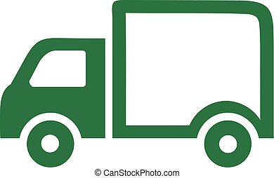 Truck icon green