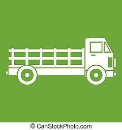 Truck icon green