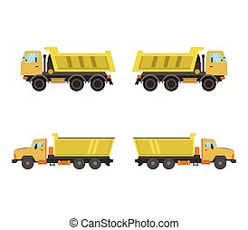 truck icon illustrated on a white background