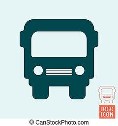 Truck icon isolated