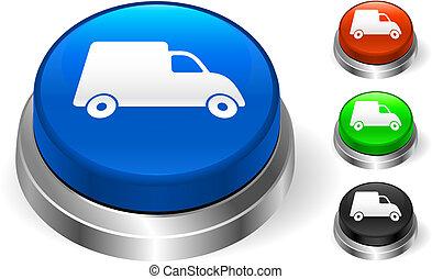 Truck Icon on Internet Button