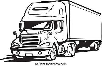 18 wheeler illustrations and clip art 886 18 wheeler royalty free rh canstockphoto com 18 wheeler clip art images 18-Wheeler Decal