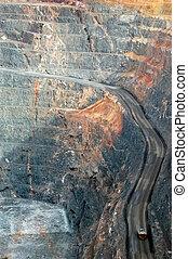 Truck in Super Pit gold mine Australia - Truck in Super Pit...