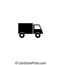 Truck logo icon vector