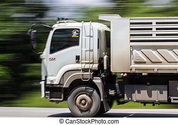 Truck Panning camera