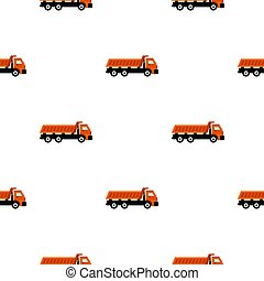 Truck pattern flat