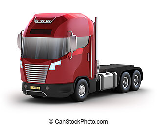 truck., propre, moderne, mon, design.