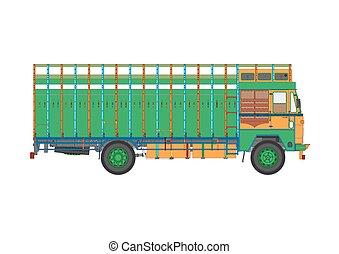 truck., restafval