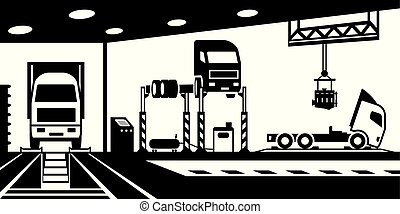 Truck service and maintenance
