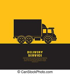 Truck sign with