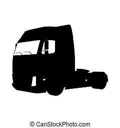 Truck Silhouette