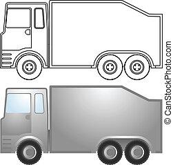 Truck sticker