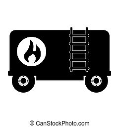 truck tank oil icon