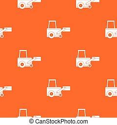 Truck to lift cargo pattern seamless