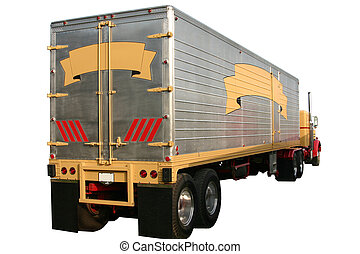 Truck Trailer - This is a picture of a old trailer on the...