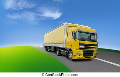 Truck - transport and logistics around the world - Lorry -...