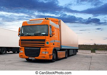 Truck, transportation
