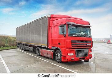 Truck - Trucking, Freight Transport