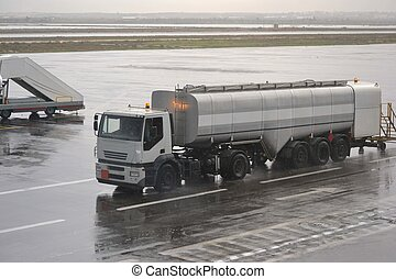 Truck with petrol