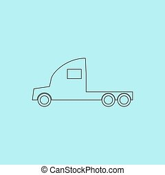 truck without a trailer