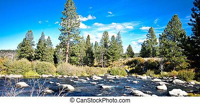 Truckee River in Truckee CA