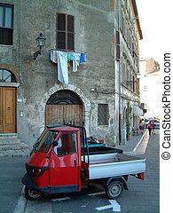 Trucks at Ptigliano