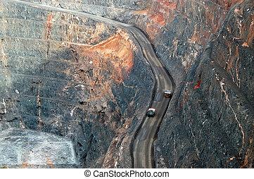 Trucks in Super Pit gold mine Australia - Trucks in Super...