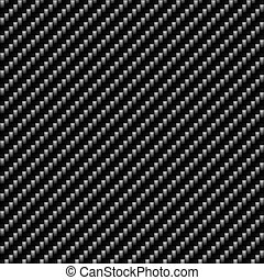 A realistic carbon fiber texture that tiles seamlessly in a pattern. A very modern seamless texture for both print and web designs.