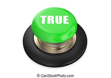 True Green Push Button