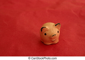 true luck - a pig - a symbol