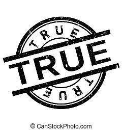 True stamp