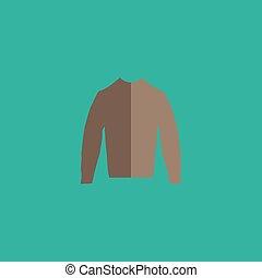 trui, kleding, pictogram
