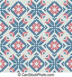 trui, pattern9, kerstmis