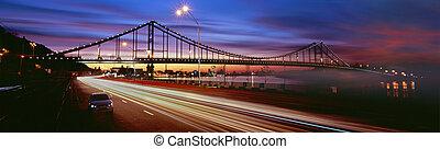 trukhaniv, park-pedestrian, puente, isla