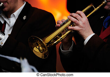 Trumpet band