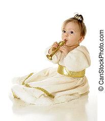 Trumpeting Snow Princess
