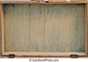 Old dry painted trunk inside background
