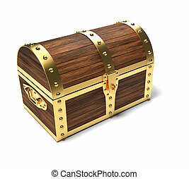 Trunk - this is a 3d render illustration