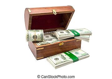 trunk of dollars