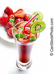 truskawka, napój