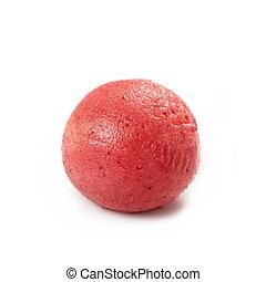 truskawkowy sorbet