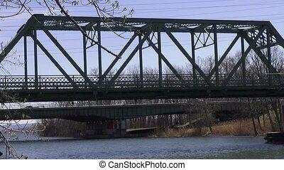 Truss Bridges, Spans, Structures