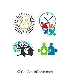 Trust Commitment Teamwork Together Business Illustration Vector
