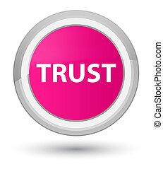 Trust prime pink round button
