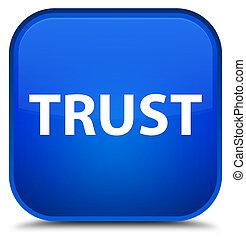 Trust special blue square button