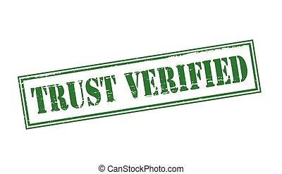 Trust verified