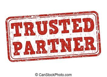Trusted  partner stamp