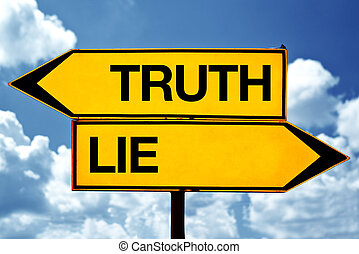 truth or lie opposite signs - Truth or lie opposite signs....
