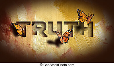 Truth setting butterflies free