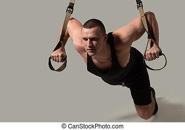 TRX bodybuilder training